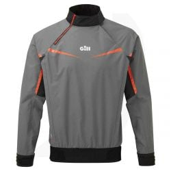 Gill Mens Pro top 2021 - Steel Grey - Front