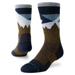 Stance Divide Hike Socks - Brown