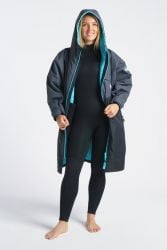 Robie Robes Dry Series Jacket 2021 - Charcoal/Blue - Front