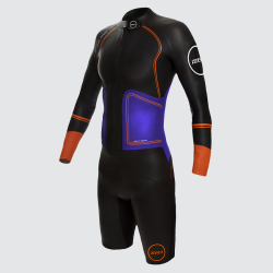 Womens Swim-Run Evolution Wetsuit - front