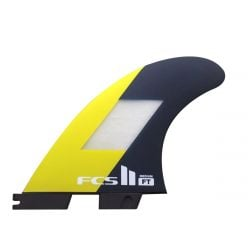 FCS II Filipe Toledo PC Thruster Fins - Medium