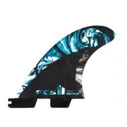 FCS II Matt Biolos PC Carbon Thruster Fins - Medium