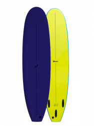 Foamie Shred Sled 7ft6 Softboard - Navy/Yellow
