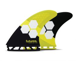 Futures AM2 Honeycomb Thruster Fins in Large