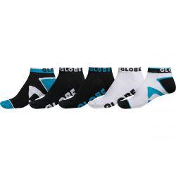 Globe Destroyer Ankle Sock 5 Pack - Black
