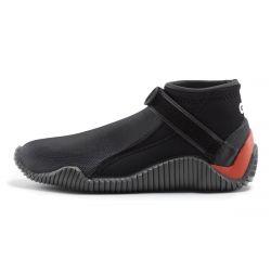 Gill Aquatech Neoprene Junior Shoe 2021 - Black/Orange - Side View