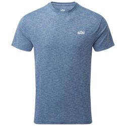 Gill Holcombe Mens Crew Short Sleeve Top 2021 -  Ocean - Front