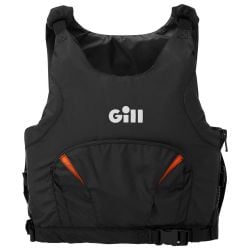 Gill Pro Racer Buoyancy Aid 2021 - Black - Front
