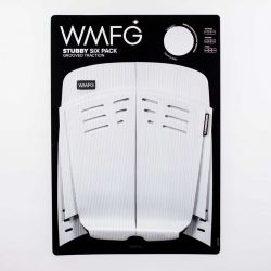 WMFG Stubby Six Pack Grooved 3.0 Kite Traction Pad - White