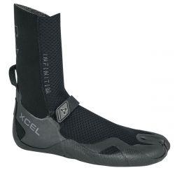 Xcel Infiniti 5mm Split Toe Wetsuit Boots 2021 - Black