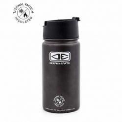 Ocean and Earth 350ml Insulated Flip Lid Coffee Mug 2021 - Black