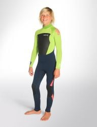 C-Skins Legend 4/3 Youth Back Zip Wetsuit 2021 - Ink Blue
