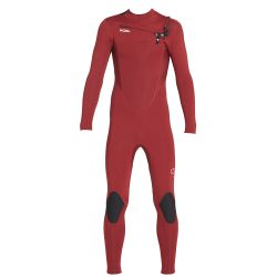 Xcel Comp 3/2 Kids Chest Zip Wetsuit 2019 - Chilli Pepper