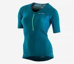 Orca 226 Perform Womens Short sleeve Tri Top 2021 - Green