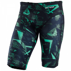 Orca Men's Swimming Jammers 2021 - Green - Front