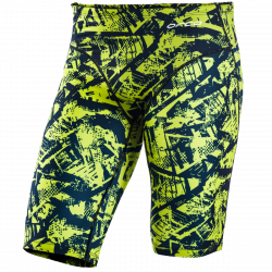 Orca Men's Swimming Jammers 2021 - Lime - Front