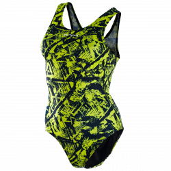 Orca Women's One Piece Swim Costume 2021 - Lime - Front