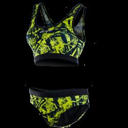 Orca Women's Bikini Swim Costume 2021 - Lime - Front