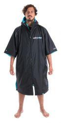 Dryrobe Advance Short Sleeve - Black / Blue