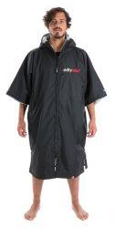 Dryrobe Advance short sleeve - black / grey
