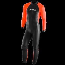 Ocra Core Mens Hi-Vis Open Water Swim Wetsuit 2021 - front