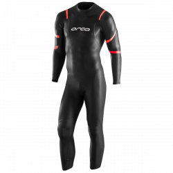 Orca Mens TRN Core Openwater Swim Wetsuit 2021 - Black - Front