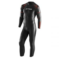 Orca R1S Thermal  Mens Open Water Wetsuit 2021 - Black - Front