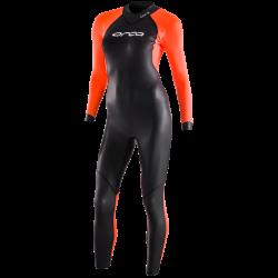 Ocra Core Womens Hi-Vis Open Water Swim Wetsuit 2021 - front