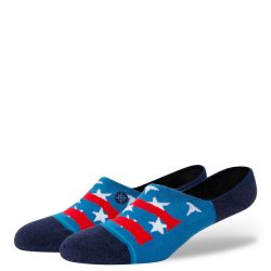 Stance Freedom Strike No Show Socks - Blue