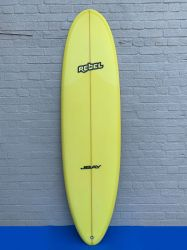 "Rebel Magic Carpet 6'10"" Surfboard - Yellow"