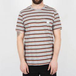 Passenger Sennen T-Shirt - Mid Grey Marl