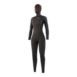 Mystic Gem Hooded 6/4mm Womens Winter Wetsuit 2022 - Black