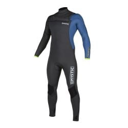 Mystic Majestic 5/3mm Chest Zip Winter Wetsuit 2020 in Grey/Blue
