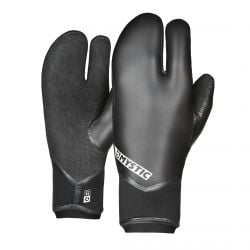 Mystic Supreme 5mm Lobster Wetsuit Gloves in Black