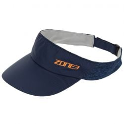 Zone 3 Lightweight Race Visor for Training and Racing - Navy