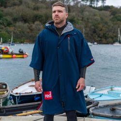 Red Paddle Mens Pro Short Sleeve Change Jacket 2021 - Navy