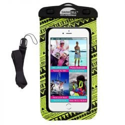 Hydramate Swimcell Large Phone Case 2021 - Neon Yellow - Front