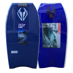 NMD Element 40 Inch PE Bodyboard in Navy/Navy