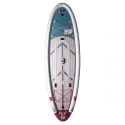NSP 11ft 6 O2 The Quest Inflatable SUP Package