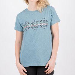 Passenger Womens Buckthorn T-Shirt - Real Teal Marl