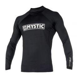 Mystic Junior Boys Star Long Sleeve Rashvest - Black