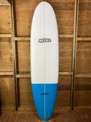 Rebel Mini Mal Surfboard - Blue Tail Dip