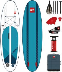 Red Paddle 9ft 6 Compact Inflatable Sup Package 2021