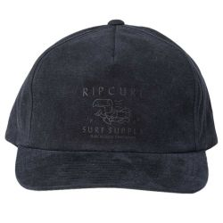Rip Curl Mens Goodtimes Snapback - Charcoal Grey - Front