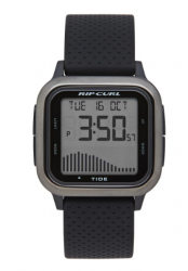 Rip Curl Next Tide Surf Watch in Gunmetal - Front