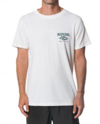Rip Curl Sunburst T Shirt in Bone