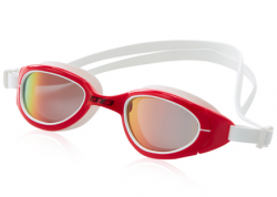 Zone 3 Attack Swim Goggles Polarised – Red / White