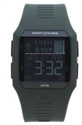 Rip Curl Rifles Tide Watch in Military Green