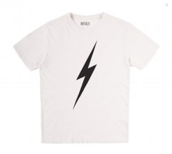 Lightning Bolt Mens Forever Tee - White