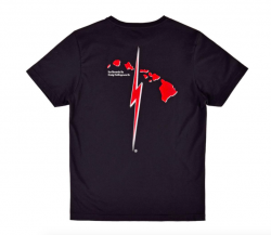 Lightning Bolt Craig Signature T Shirt - Moonless Night